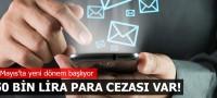 İzinsiz SMS ve e-posta ile ilgili düzenleme tasarısı kabul edildi